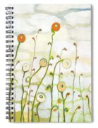 Watching The Clouds Go By No 2 Spiral Notebook