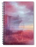 Watching The Day Begin In Watercolors Spiral Notebook