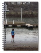 Watching The Tide Spiral Notebook