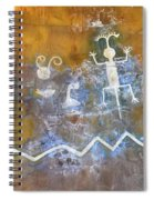 Watchtower Rock Art  Spiral Notebook