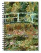 Waterlily Pond Spiral Notebook