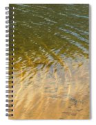 Water Abstract - 1 Spiral Notebook