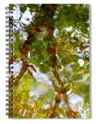 Water Abstract 17 Spiral Notebook