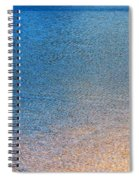 Water Abstract - 3 Spiral Notebook