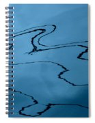 Water Abstract - 6 Spiral Notebook