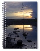 Water And Electricity Spiral Notebook