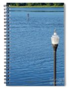 Water And Light Spiral Notebook