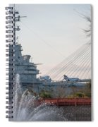 Water And Metal Spiral Notebook