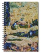 Water And River Delta  Spiral Notebook