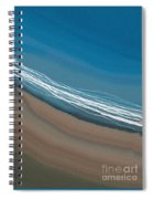 Water And Sand Spiral Notebook