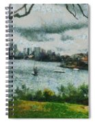 Water And Scenery Spiral Notebook