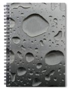 Water And Steel Spiral Notebook