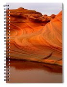 Water And The Wave Spiral Notebook