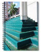 Water At The Federl Courthouse Spiral Notebook