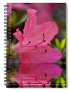 Water Azalea Spiral Notebook