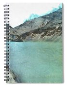 Water Body In The Himalayas Spiral Notebook