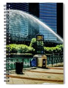 Water Canon In Color Spiral Notebook