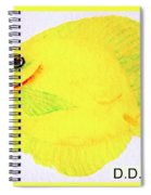 Water Color Of Fish Spiral Notebook