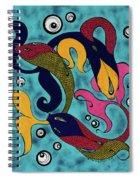Water Dance Spiral Notebook