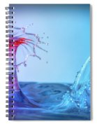 Water Drop 25 Spiral Notebook