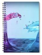 Water Drop 27 Spiral Notebook