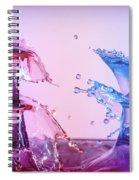 Water Drop 28 Spiral Notebook