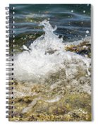 Water Elemental Spiral Notebook