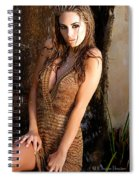 Water Fall Beauty Spiral Notebook
