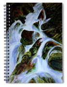 Energy Of Water  Spiral Notebook