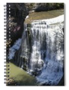 Water Fall In Tennessee  Spiral Notebook