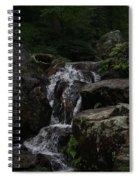 Water Fall Stilled Spiral Notebook