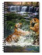 Water Fight Spiral Notebook