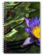 Water Floral Spiral Notebook