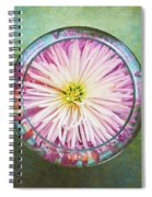 Water Flower Spiral Notebook