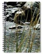 Water Flowing 2 Spiral Notebook