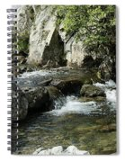 Water Flowing 5 Spiral Notebook