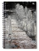 Water Fountain Spiral Notebook