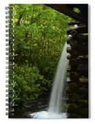 Water From The Flume Spiral Notebook