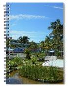 Water Garden Spiral Notebook