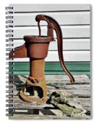Water Hand Pump Spiral Notebook