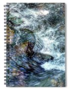 Water In Motion Spiral Notebook