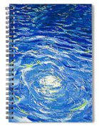 Water In The Pool Spiral Notebook
