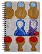 Water Into Wine Spiral Notebook