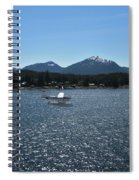 Water Landing Spiral Notebook