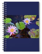 Water Lilies In Kauai Spiral Notebook