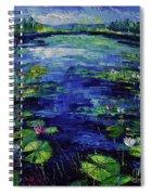 Water Lilies Magic Spiral Notebook