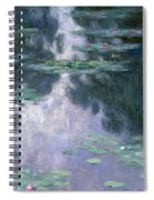 Water Lilies, Nympheas, 1907 Spiral Notebook