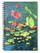 Water Lillies 1 Spiral Notebook