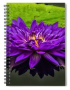 Water Lily 15-2 Spiral Notebook
