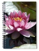Water Lily 2 Spiral Notebook